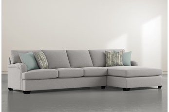 "Jenner 2 Piece 131"" Sectional With Right Arm Facing Chaise"