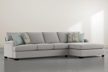 """Jenner 2 Piece 131"""" Sectional With Right Arm Facing Chaise"""