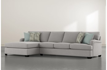 "Jenner 2 Piece 131"" Sectional With Left Arm Facing Chaise"