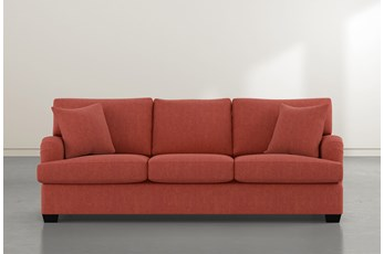 Jenner Red Sofa