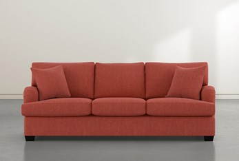 Jenner Red Sofa