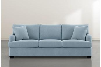 Jenner Light Blue Sofa