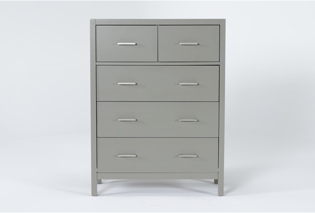 Reese Grey Chest Of Drawers - 360