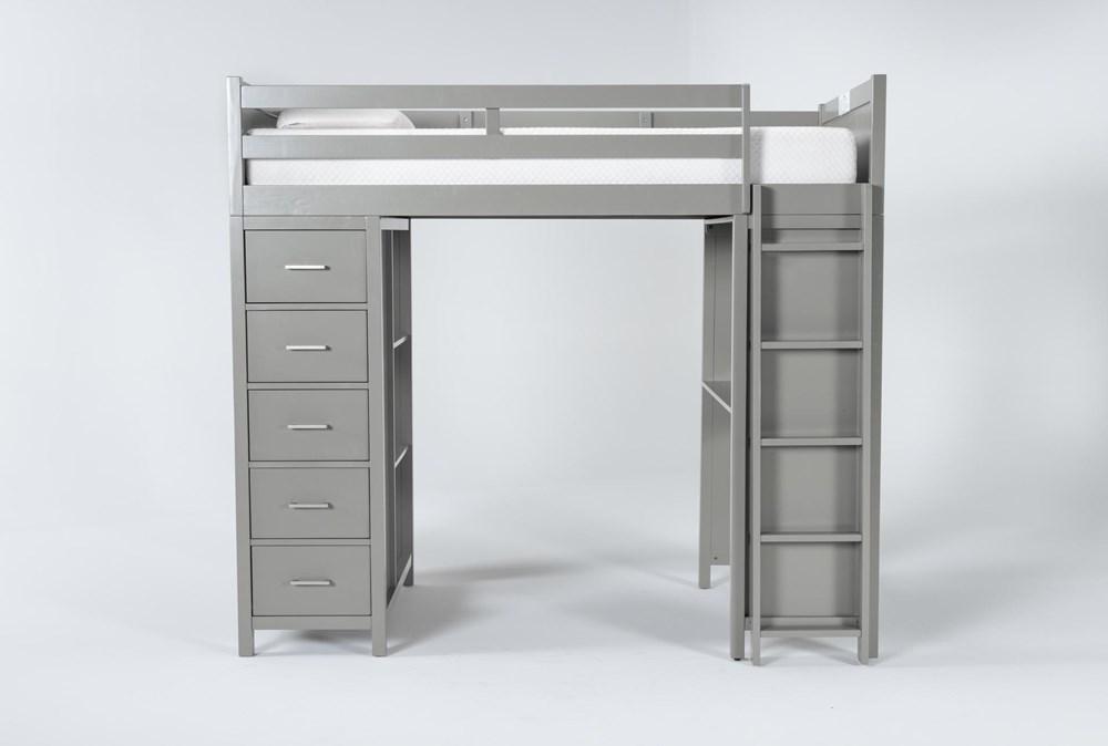 Reese Grey Loft Bed