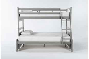 Reese Grey Twin Over Full Bunk Bed