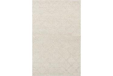 2'x3' Rug-Wool And Viscose Lattice Grey