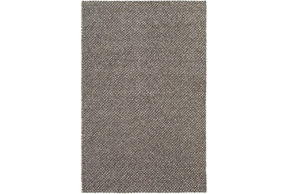 24X36 Rug-Viscose And Wool Textured Camel/Brown/Cream
