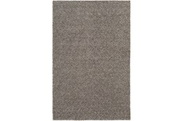 8'x10' Rug-Viscose And Wool Textured Camel/Brown/Cream