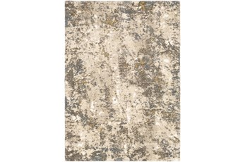 63X87 Rug-Modern With High Pile And Metallic Accents Brown/Cream