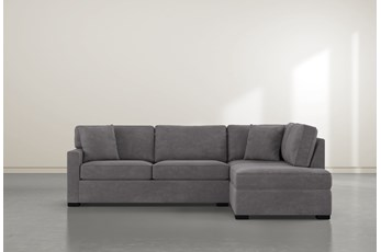 """Alder Down 2 Piece 106"""" Sectional With Right Facing Chaise"""