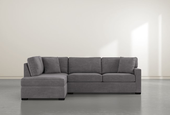 """Alder Down 2 Piece 106"""" Sectional With Left Facing Chaise - 360"""