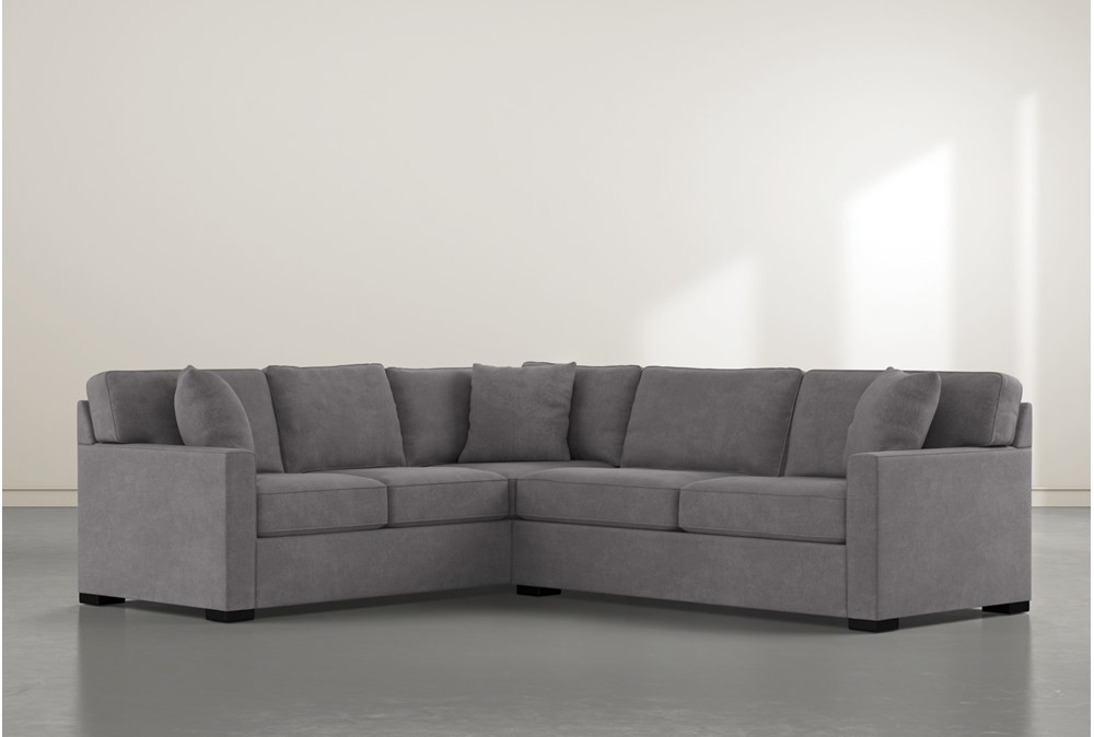 Alder Down 2 Piece Sectional With Right Arm Facing Condo Sofa