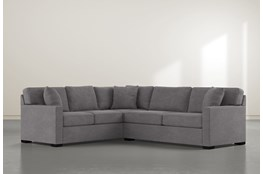 "Alder Down 2 Piece 92"" Sectional With Right Arm Facing Condo Sofa"