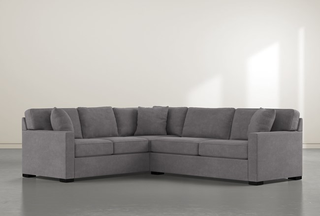 Alder Down 2 Piece Sectional With Right Arm Facing Condo Sofa - 360