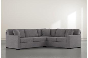 Alder Down 2 Piece Sectional With Left Arm Facing Condo Sofa