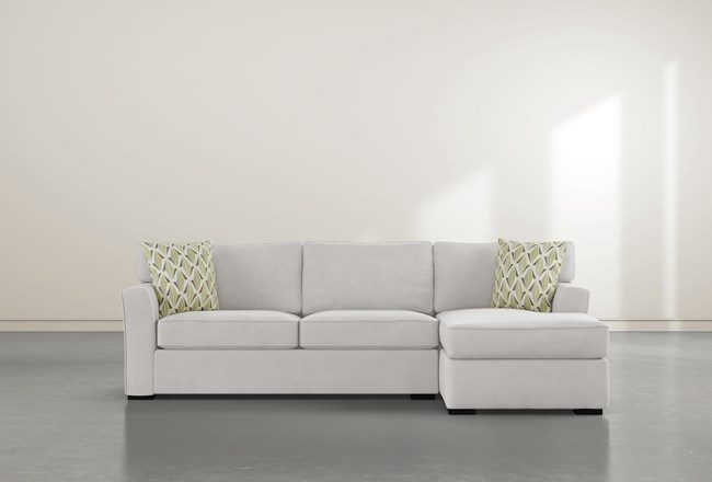 Aspen Down 2 Piece Sectional With Right Facing Chaise - 360