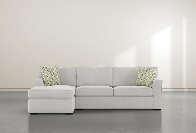 Aspen Down 2 Piece Sectional With Left Facing Chaise - 360
