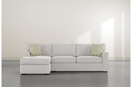 "Aspen Down 2 Piece 94"" Sectional With Right Arm Facing Condo Sofa"