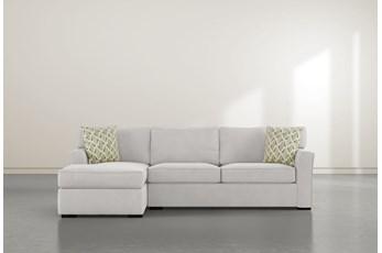 "Aspen Down 2 Piece 94"" Sectional With Right Arm Facing Condo Sofa"