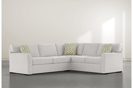 "Aspen Down 2 Piece 94"" Sectional With Left Arm Facing Condo Sofa"