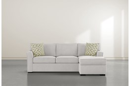 "Aspen Down Reversible 95"" Sofa/Chaise"