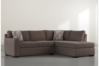 "Cypress II Down 2 Piece 106"" Sectional With Right Facing Chaise"
