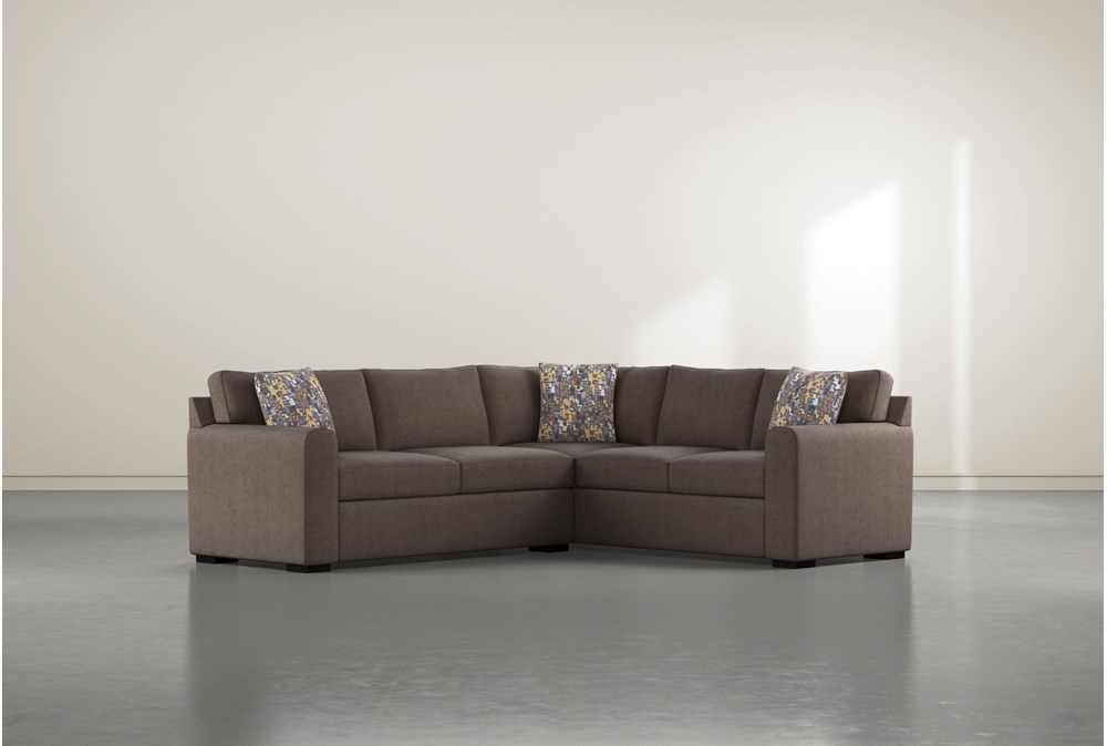 Cypress II Down 2 Piece Sectional With Left Arm Facing Condo Sofa