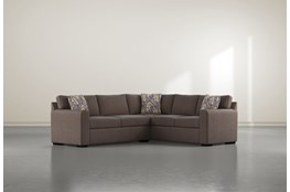 "Cypress II Down 2 Piece 92"" Sectional With Left Arm Facing Condo Sofa"