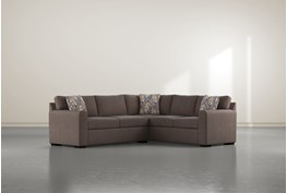 """Cypress II Down 2 Piece 92"""" Sectional With Left Arm Facing Condo Sofa"""