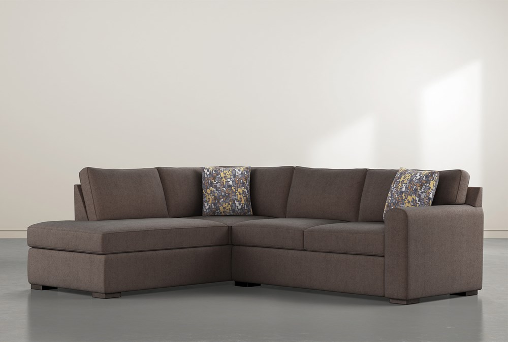 """Cypress II Down 2 Piece 106"""" Sectional With Left Facing Chaise"""