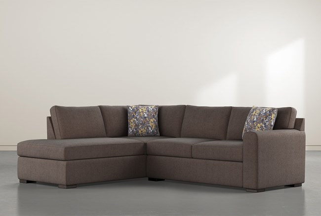 """Cypress II Down 2 Piece 106"""" Sectional With Left Facing Chaise - 360"""