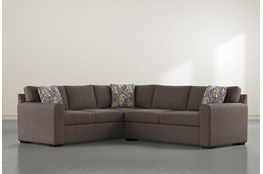 "Cypress II Down 2 Piece 92"" Sectional With Right Arm Facing Condo Sofa"