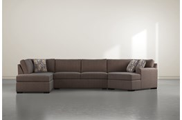 "Cypress II Down 3 Piece 163"" Sectional With Left Arm Facing Armless Chaise"