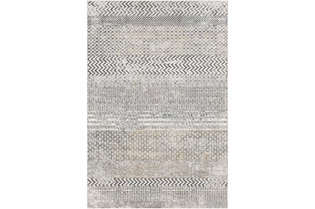 94X123 Rug-Modern With Medium Pile Grey