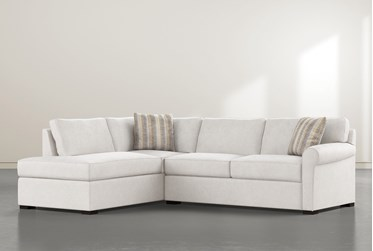 """Elm II Down 2 Piece 108"""" Sectional With Left Facing Chaise"""