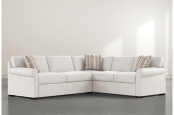 """Elm II Down 2 Piece 94"""" Sectional With Left Arm Facing Condo Sofa"""
