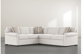 Elm II Down 2 Piece Sectional With Right Arm Facing Condo Sofa