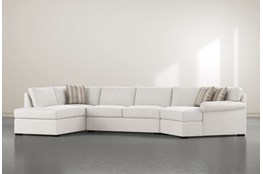 Elm II Down 3 Piece Sectional With Right Arm Facing Armless Chaise