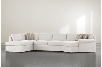 "Elm II Down 3 Piece 163"" Sectional With Right Arm Facing Armless Chaise"