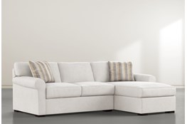 Elm II Down Reversible Sofa/Chaise
