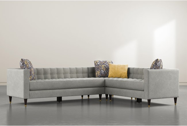 Tate III 3 Piece Sectional With Left Arm Facing Sofa - 360