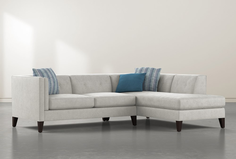 Avery II 2 Piece Sectional With Right Facing Chaise