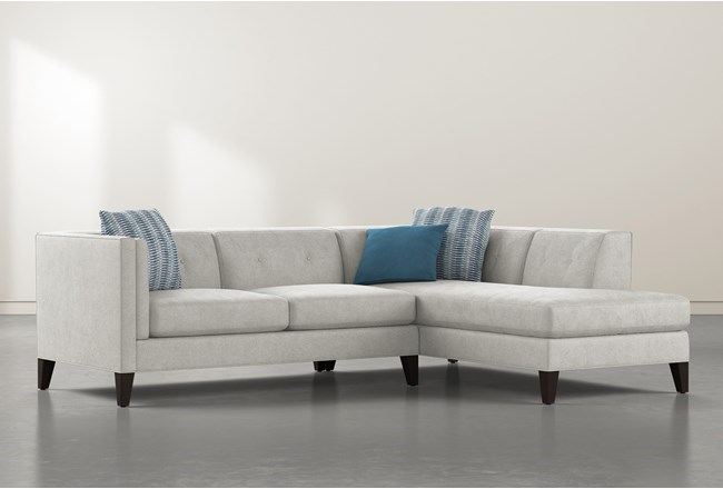Avery II 2 Piece Sectional With Right Facing Chaise - 360