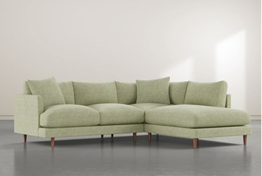 """Adeline II Ivy 2 Piece 109"""" Sectional with Right Arm Facing Chaise"""