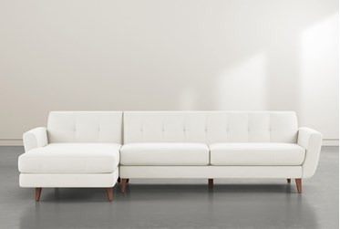 """Chill III 2 Piece 115"""" Sectional With Left Arm Facing Chaise"""