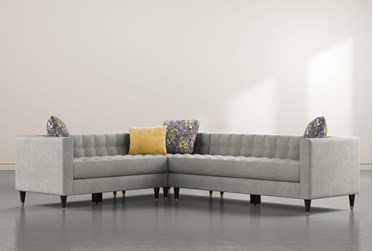 """Tate IV 3 Piece 109"""" Sectional With Right Arm Facing Sofa"""