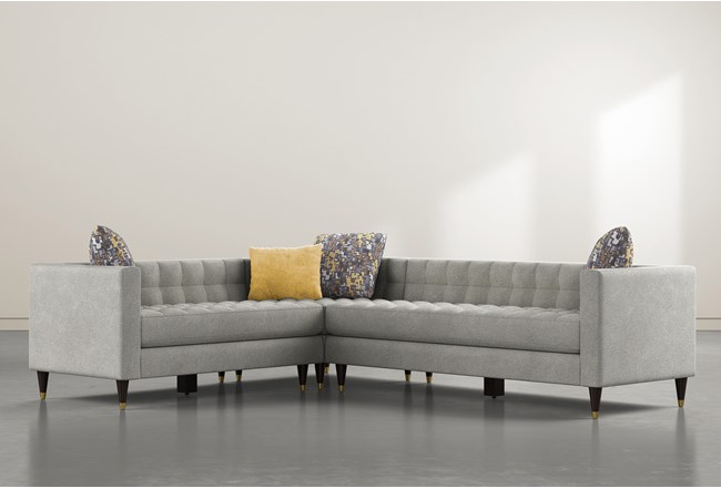 Tate III 3 Piece Sectional With Right Arm Facing Sofa - 360