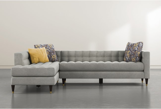 Tate III 2 Piece Sectional With Left Facing Chaise - 360