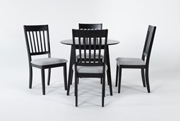 Kole 5 Piece Round Dining Set