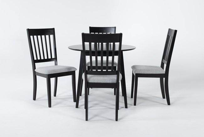 Kole 5 Piece Round Dining Set - 360